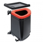 Сортер Franke Pivot 121.0339.484 черный пластик