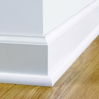 Плинтус Quick-Step Incizo МДФ 2400 QSISKRWHITEMD240 белый + резак