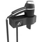 Стационарный фен для волос с креплением на стену JVD Alteo 822871 черный