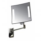 Гостиничное зеркало с LED подсветкой JVD Galaxy 866768 хром