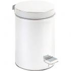 Корзина для мусора с педалькой на 5л JVD H1020SSS матовая
