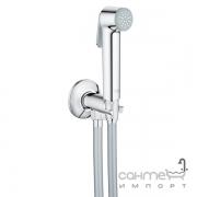 Гигиенический душ с шлангом и вентилем-держателем Grohe Tempesta-F Trigger Spray 30 26358000 хром