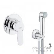 Гигиенический душ скрытого монтажа Grohe BauEdge 28343001 хром