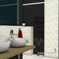 Бордюр 2x60 Ceramika Color Neo-Geo Amarante Szklana Listwa