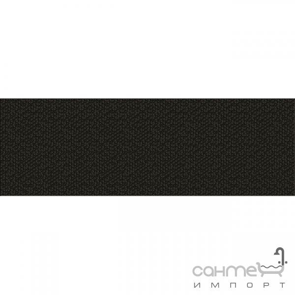 Plitka Nastennaya Dekor 25x75 Ceramika Color Java Xero Black