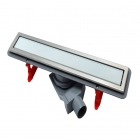 Душевой канал Pestan Confluo Premium Line 650 мм 13000283 белое стекло