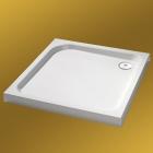 Душевой поддон квадратный с формованной передней панелью 1000x1000 Huppe Verano 235012