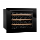 Винный шкаф встраиваемый под столешницу Fabiano FWC 455 BLACK черное стекло
