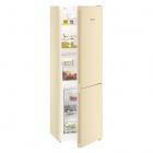 Двухкамерный холодильник с нижней морозилкой Liebherr CNbe 4313 NoFrost (A++) бежевый