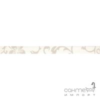 Бордюр 5x60 Ceramika Color Listwa Crypton Glam White