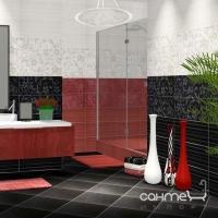 Бордюр 5x60 Ceramika Color Listwa Crypton Glam Red