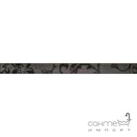 Бордюр 5x60 Ceramika Color Listwa Crypton Glam Black