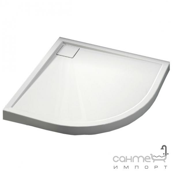 aquaform Душевой поддон Aquaform Como 90 см полукруглый 200-49002 акрил белый
