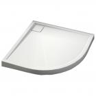 Душевой поддон Aquaform Como 90 см полукруглый 200-49002 акрил белый