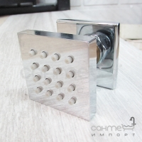Душевая форсунка квадратная Vito 1602-050CH хром
