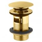 Донный клапан с переливом Jaquar ALD-GLD-729 золото