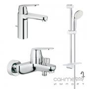 Набор смесителей для ванной Grohe Eurosmart Cosmopolitan 126112М хром