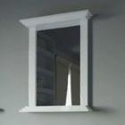 Зеркало Intero Naos INTR00011 белый глянец