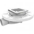 Душевой трап Nicoll Docia с технологией Magnetech SFH10I 150х150 без решетки
