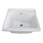 Раковина для стирки Ceramica Dolomite Lago J089300 белая