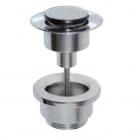 Донный клапан Clic-Clac SMALL 1-1/4, латунь, универсальная система GRB 081 109 Хром
