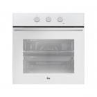 Многофункциональный духовой шкаф Teka Wish Total HSB 610 41560111 белое стекло/черная нерж. сталь