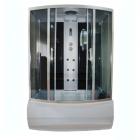 Гидробокс полукруглый Eco Style Eco Brand 150HT Black 150x85x215