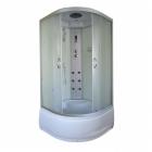 Гидробокс полукруглый Eco Style Eco Brand 90HT White  90x90x215