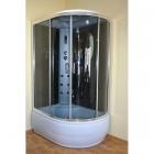 Гидробокс левосторонний Eco Style Eco Brand 120HT (L) Black 120x85x215