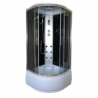 Гидробокс полукруглый Eco Style Eco Brand 90HT Black 90x90x215