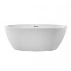 Ванна акриловая отдельностоящая Galassia Plus Design 7320 белая