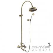 Душевая стойка со смесителем для ванны Imprese Cuthna antiqua T-10280 antiqua-n бронза