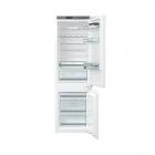 Встраиваемый двухкамерный холодильник с нижней морозильной камерой Gorenje NRKI 2181 A1 белый