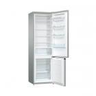 Отдельностоящий двухкамерный холодильник с нижней морозильной камерой Gorenje RK 621 PS4 серебро