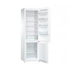 Отдельностоящий двухкамерный холодильник с нижней морозильной камерой Gorenje RK 621 PW4 белый