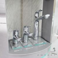Смеситель для раковины с донным клапаном Hansgrohe Novus 71030000 хром