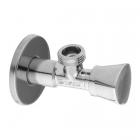 Вентиль угловой 1/2х3/4(+3/8) Arco Zenit Z0915 хром