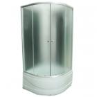 Душевой бокс Santeh 8821F профиль хром, стекло и задние стенки фабрик
