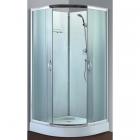 Душевой бокс Santeh 8510L профиль хром, стекло и задние стенки фабрик