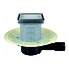 Душевой трап горизонтальный с сухим сифоном и вкладышем под плитку Hutter & Lechner HL90Pr-3020