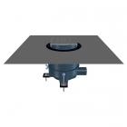 Душевой трап горизонтальный с сухим сифоном и решеткой Hutter & Lechner HL540-Cut