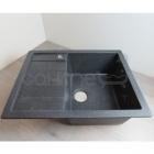 Кухонная мойка, сушка слева Adamant Anila 03 чёрная (уценка)