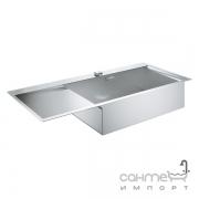 Кухонная мойка Grohe K1000 31582SD0 нержавеющая сталь, чаша справа