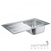 Кухонная мойка Grohe K400+ 31568SD0 нержавеющая сталь