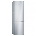 Отдельностоящий двухкамерный холодильник с нижней морозильной камерой Bosch KGV39VI316 нержавеющая сталь