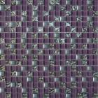 Мозаика 30x30 Grand Kerama Микс фиолетовый-платина рифленая-платина, арт. 914