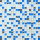 Мозаика 30x30 Grand Kerama Микс белый-голубой-платина, арт. 466