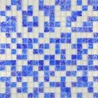 Мозаика 30x30 Grand Kerama Микс белый-синий колотый-голубой колотый, арт. 450