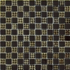 Мозаика 30x30 Grand Kerama Шахматка шоколад-ромб золото, арт. 806