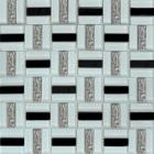 Мозаика 30x30 Grand Kerama Трино черно-белая, арт. 1077
